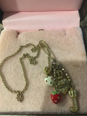 Juicy couture necklace for Sale in Riverside, CA