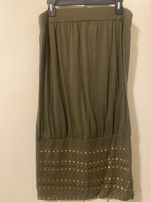 Army green dress size L for Sale in San Luis Obispo, CA