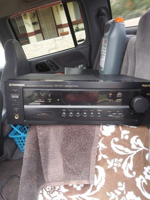 Pioneer receiver and powered subwoofer for Sale in Phoenix, AZ