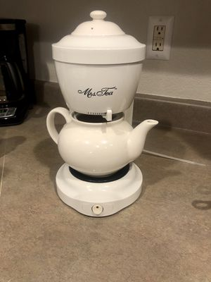Mrs. Tea by Mr. Coffee tea maker for Sale in Thornton, CO