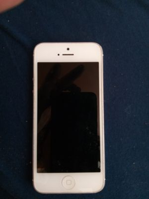iPhone 5 - icloud locked -For parts for Sale in Seattle, WA