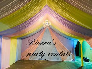 20x20whit draping available for Sale in Cerritos, CA