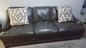 100% Leather sofa. Great condition. for Sale for sale  The Bronx, NY