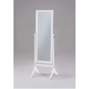 White Wooden Cheval Mirror for Sale in Norwalk, CA