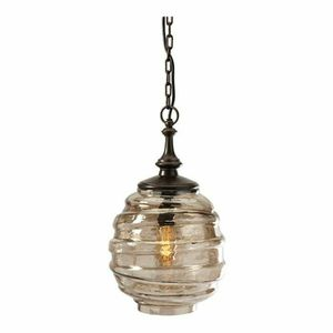 Vintage bee hive glass globe hanging lights for Sale in Binghamton, NY