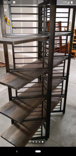 Large decorative metal shelving for Sale in Clovis, CA