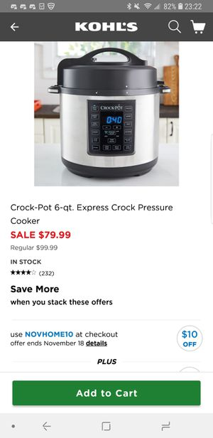Crock-Pot for Sale in Grove City, OH