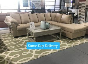 BRAND NEW 🎊 Darcy Stone RAF Sectional for Sale in Jessup, MD