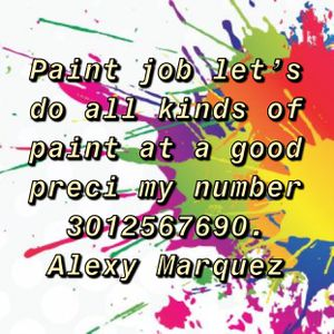 Pintura/job paint for Sale in Kensington, MD