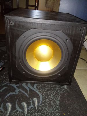 Monitor asw 10 powered sub for Sale in Englewood, CO