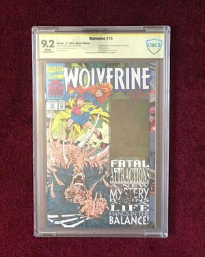 Wolverine 75 (green hologram) signed and graded comic book for Sale in Fort Washington, MD