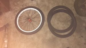 Bike wheel and tires for Sale in Neosho, MO