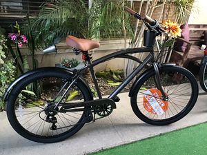 """Brand New Kent Bayside Beach Cruiser Bike Size 26"""" with 7 Speed for Sale in Bellflower, CA"""