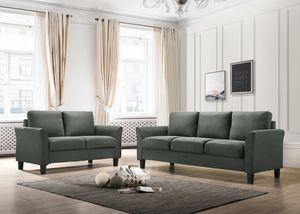 Denmark - Steel 2pc Sofa & Love Set for Sale in Missouri City, TX