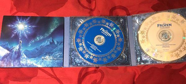 Frozen 2 disc cd set