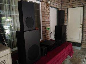 Onkyo integra txsv909pro paid 148000. With cambridge sound works 6speakers 1 for Sale in Visalia, CA