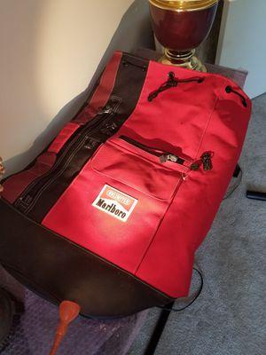 Vintage Marlboro Unlimited Top Loading One Shoulder Strap Duffle Bag for Sale in Philadelphia, PA