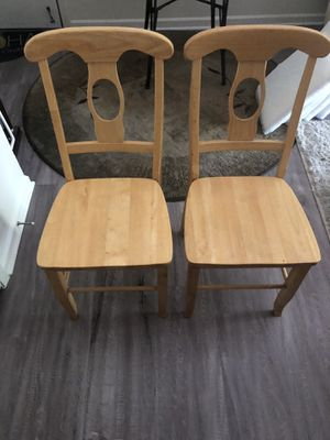 Dinning Wooden chairs for Sale in Las Vegas, NV