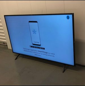 """58"""" SAMSUNG UN58NU710D 4K UHD HDR LED SMART TV 2160P (FREE DELIVERY) for Sale in Tacoma, WA"""