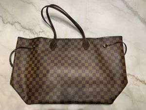Authentic Louis Vuitton Neverfull GM Damier Ebene for Sale in Vineyard, UT