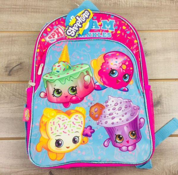 New backpack 🎒shopkins