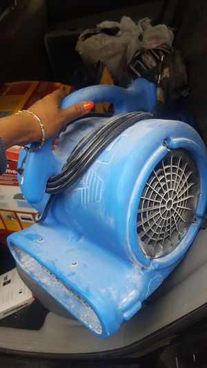 Blue carpet drying fan for Sale in Indianapolis, IN
