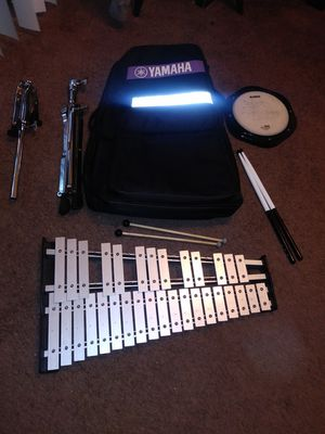 Bell Kit & Drum Padwith mallets for Sale in Albuquerque, NM