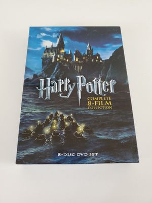 Harry Potter Complete 8 Film Collection Dvds for Sale in Manteca, CA