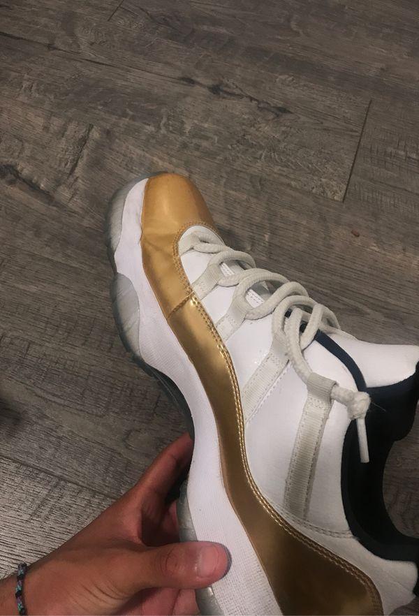 Jordan 11 gold