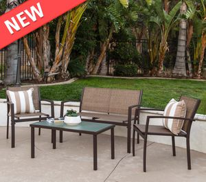 4-Piece Outdoor Patio Metal Conversation Furniture Set for Sale in Philadelphia, PA