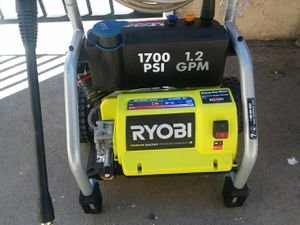 riobi 1700 psi electric pressure washer 1.2gpm for Sale in Westminster, CA