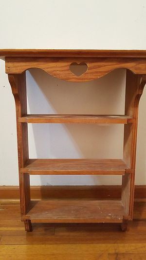 storage cabinet vintage shelves cabinete muy bonito for Sale in Wichita, KS