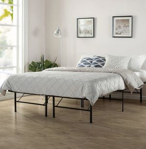 Spa Sensations by Zinus Platform Bed Frame, Twin/Full for Sale in Rochester, NY