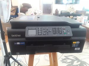 Brother MFC-J475DW Printer- Compact Wireless Inkjet All-in-One with Duplex Print for Sale in Tampa, FL