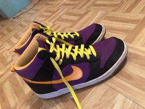 Nike lakers color for Sale in Austin, TX