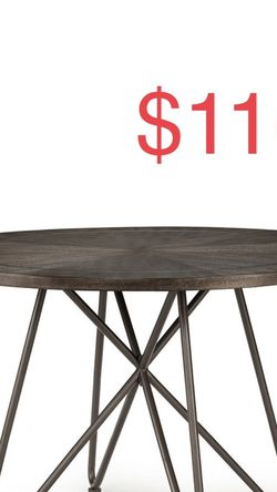 Steve Silver Derek Round Grey Dining Table for Sale in South El Monte,  CA