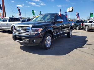 2013 Ford F150 Platinum 4x4 for Sale in Houston, TX