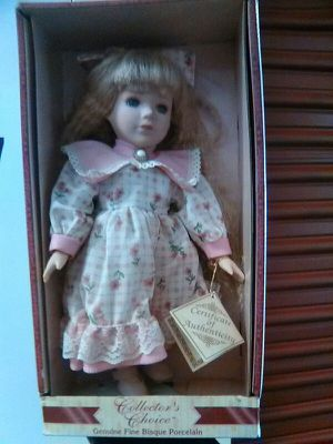 5a3347d2558 Collectors Choice Genuine Fine Bisque Porcelain Doll - Soft Expressions for  Sale in Escondido