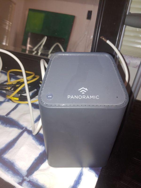 Wi-Fi motem panoramic