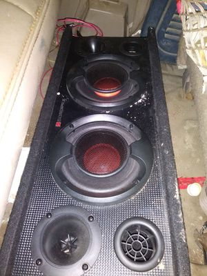 Sondpex 2 10s and tweeters for Sale in undefined