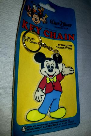 Walt Disney Mickey Mouse Keychain for Sale in Manchester, PA