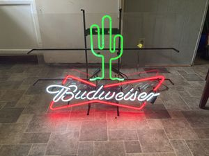 Budweiser Neon Sign for Sale in West Columbia, SC