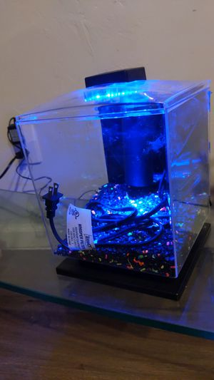 Led glow fish tank for Sale in Albuquerque, NM