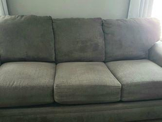 Lush Microfiber Gray Couch & Love Seat Set for Sale in Manassas,  VA