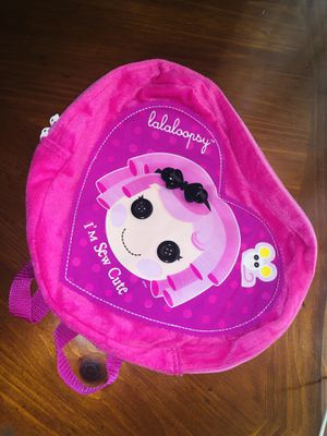 Lalaloopsy backpack for Sale in Alafaya, FL