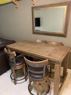 Kitchen table and chairs $250 for Sale in Boca Raton, FL