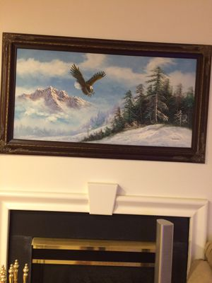 Amadio oil painting- 57x32 inches for Sale in McLean, VA