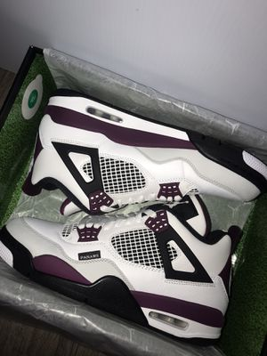 Paris Saint-Germain Air Jordan 4 Retro 'Bordeaux' for Sale in Bartow, FL