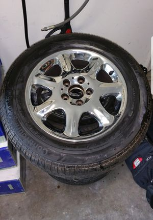 Chrome S500 rims for Sale in Waldorf, MD