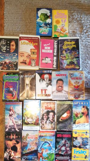 VHS movies for Sale in Bastrop, TX